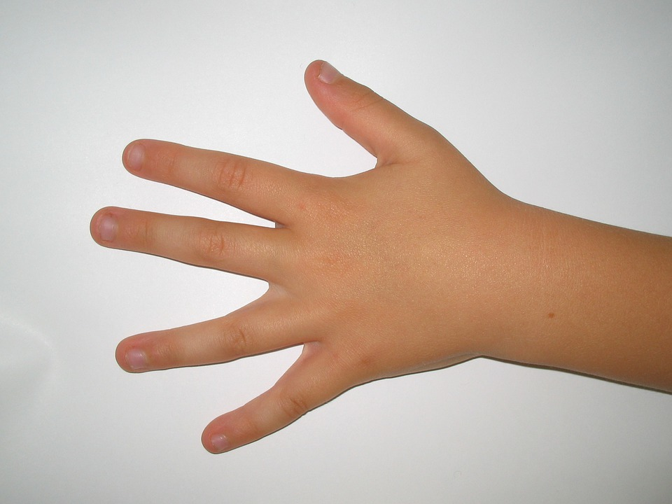 Hand, Left, Child, Fingers, Nails, Human, Fair