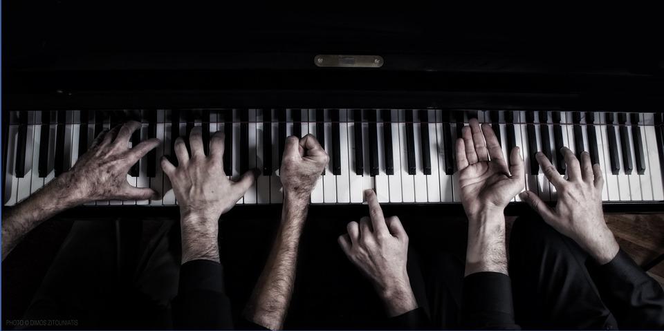 Hands, Piano, Fingers, Music, Black Music, Black Piano