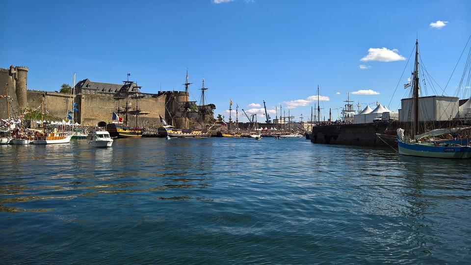 Port, Brest, Sailboat, Marine, Finistère, Brittany