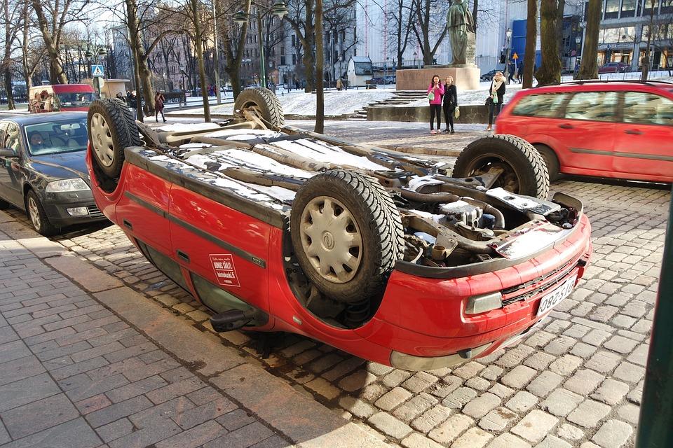 Helsinki, Finland, Car, Advertising, Design, Street