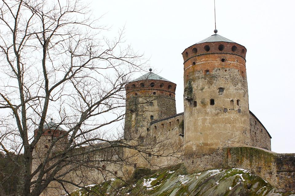 Savonlinna, Castle, Finnish, History, Tower