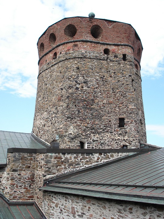 Finnish, Olaf's Castle, Tower, Castle, Medieval