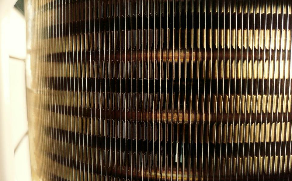 Radiator, Fins, Metal, Air, Heat, Industrial, Cooling