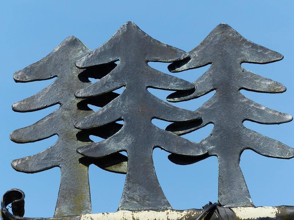 Fir Trees, Iron, Blacksmithing, Wrought Iron, Metal