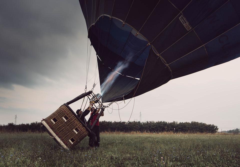 Hot Air Balloon, Ballon, Ballooning, Fire, Flames, Air