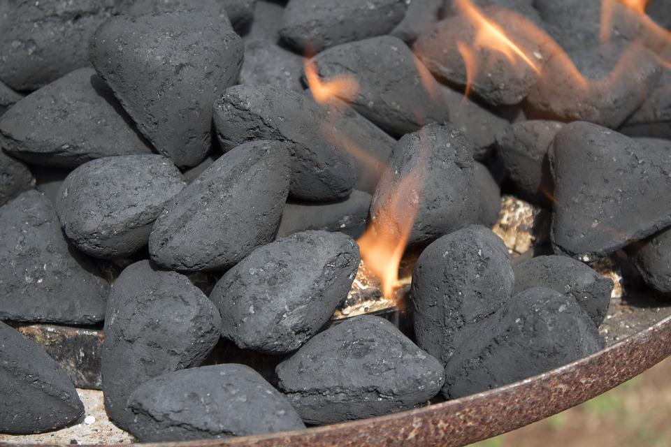 Fire, Barbeque, Charcoal