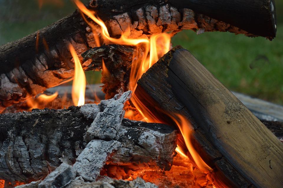 Fire, Campfire, Bonfire, Open Fire, Open Flame, Burning