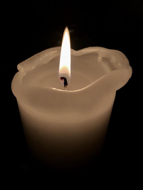 Candle, Flame, Candlelight, Burn, Light, Fire, Wax