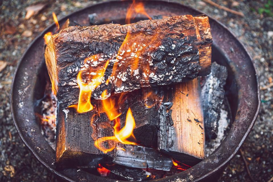Camping, Fire, Firepit, Woods, Burn, Heat, Hot, Summer