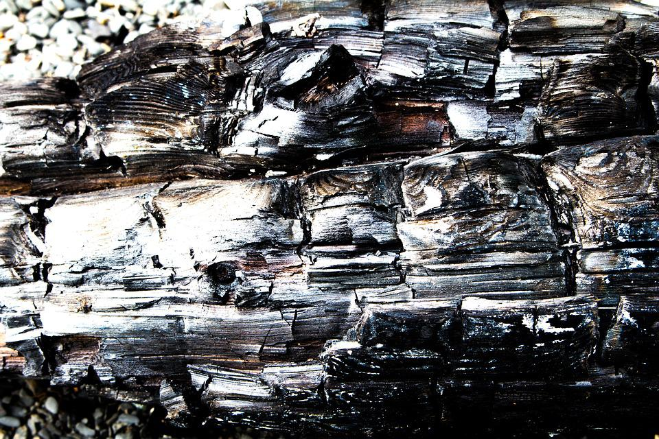 Burned, Wood, Driftwood, Coal, Residues, Fire, Heat