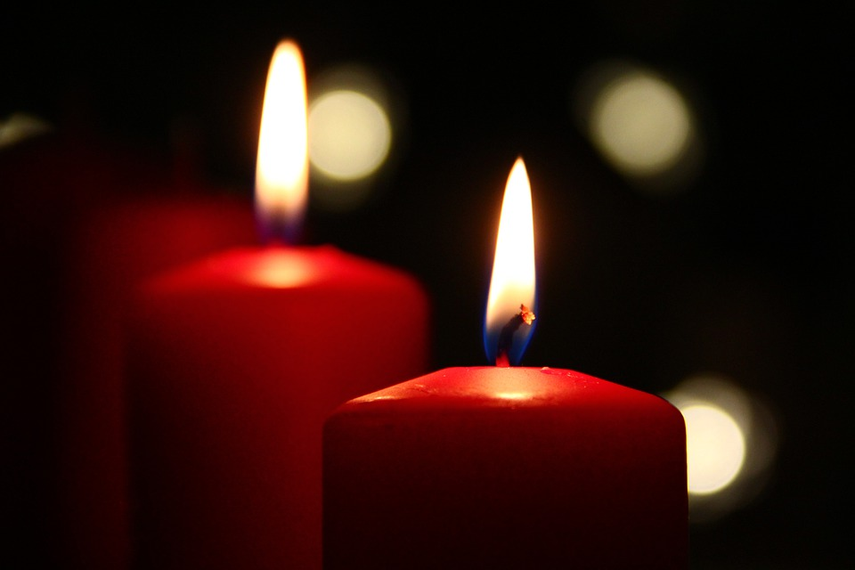 Candles, Christmas, Mood, Fire, Wax Candle, Atmosphere