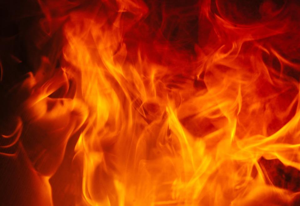 Flames, Fire, Censer