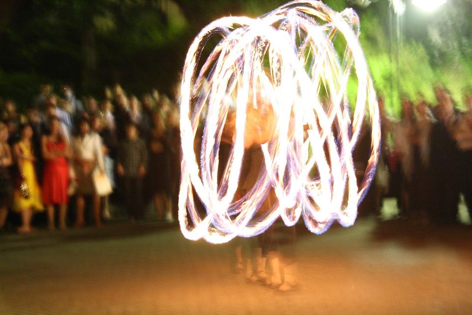 Lichtspiel, Fire, Circles Of Light