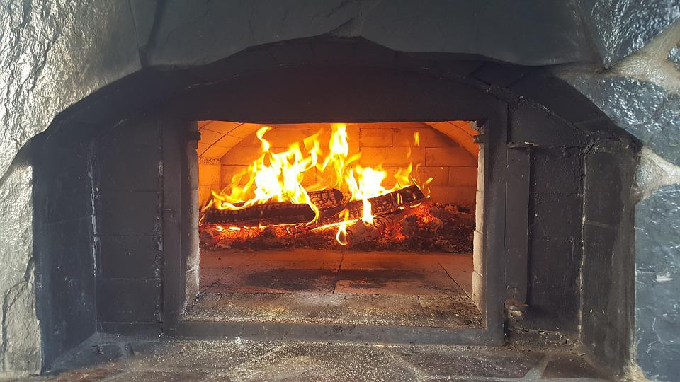 Fire, Oven, Brick, Pizzeria, Cooking, Pizza, Firewood