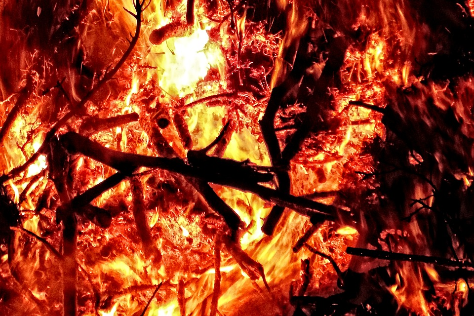Easter Fire, Fire, F, Flame, Easter, Customs, Blaze