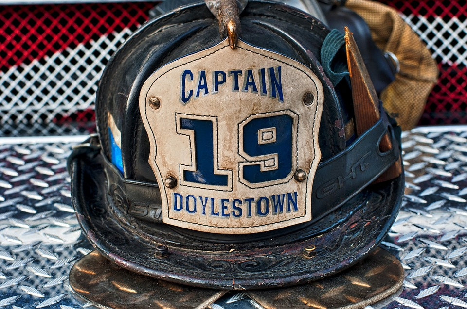 Fire Fighter Helmet, Fire Fighter, Helmet