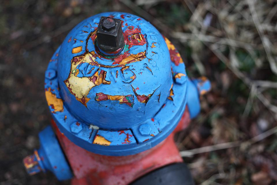 Hydrant, Red, Weathering, Fire, Security, Fire Hydrants
