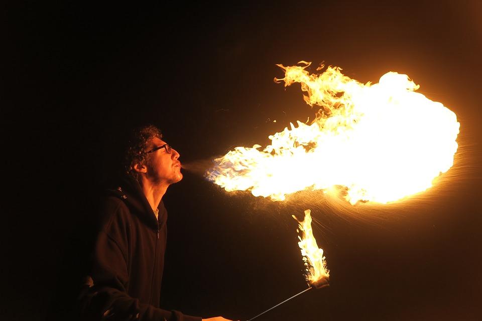 Fire, Fire Manipulation, Firebreather, Firebreathing