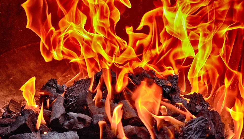 Fire, Flame, Carbon, Burn, Heat, Hot