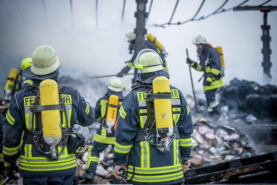 Brand, Fire, Fire Fighter, Equipment, Hose, Risk