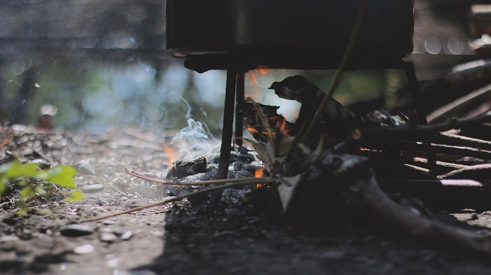 Fire, Wood, Camping, Flame, Heat, Hot, Cooking, Burn