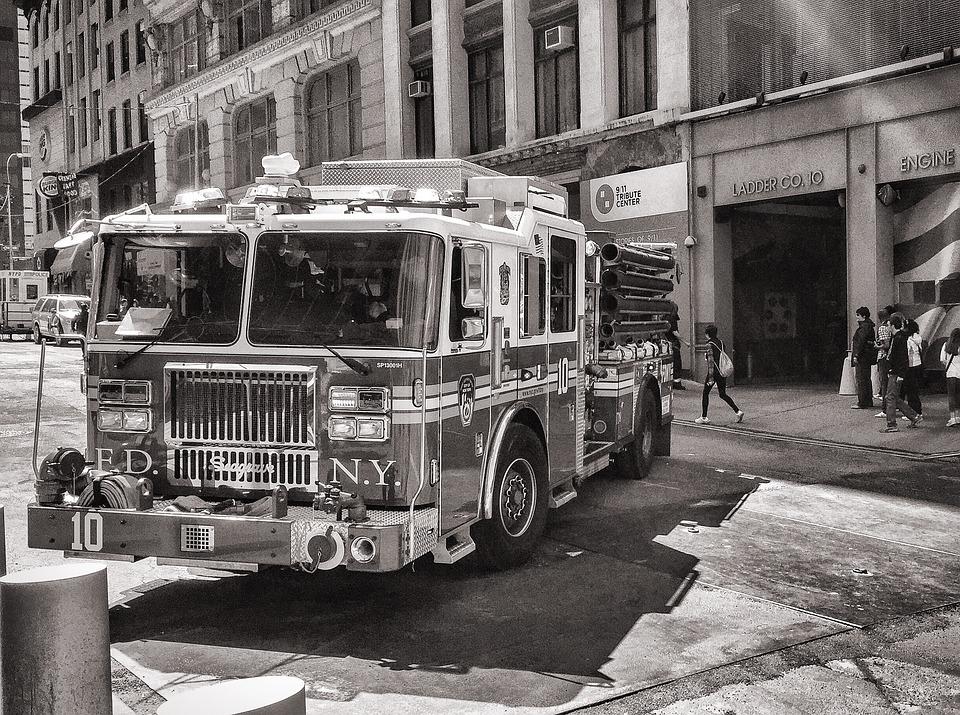 Fire, Fdny, Freedom Tower, Memorial, New York, Ny