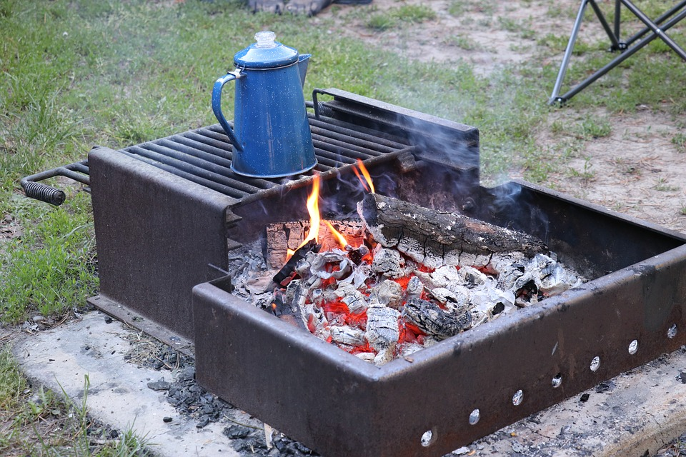 Camping, Campfire, Outdoor, Fire, Camp