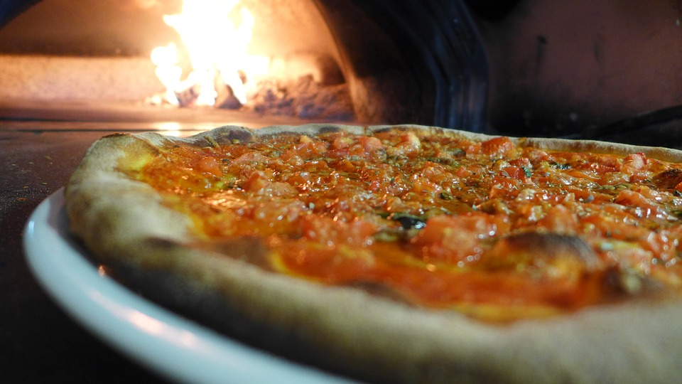 Pizza, Stone Oven, Fire, Wood Fire, Pizza Maker, Food
