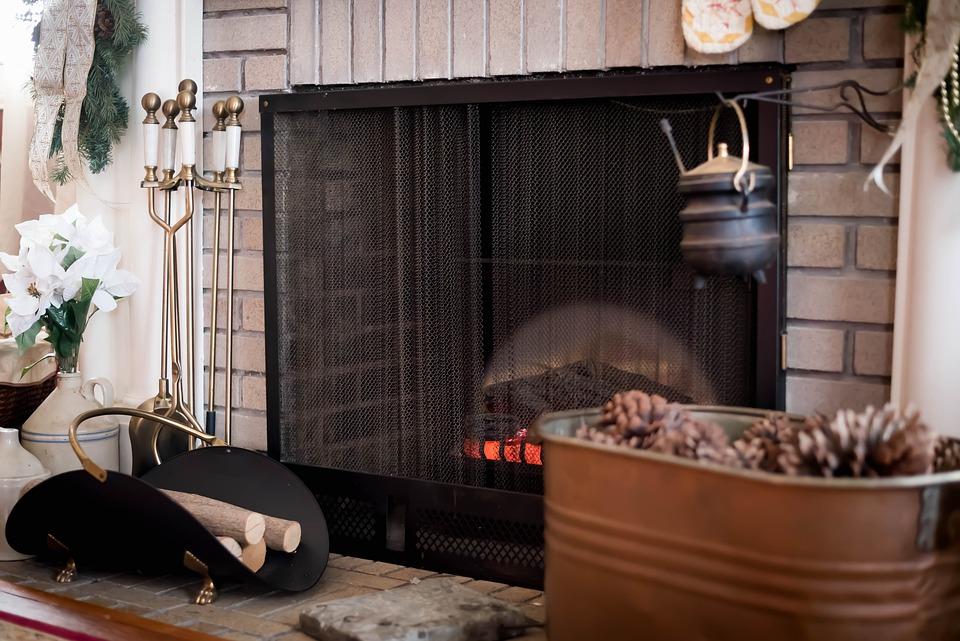 Fire Place, Winter, Fireplace, Interior Design