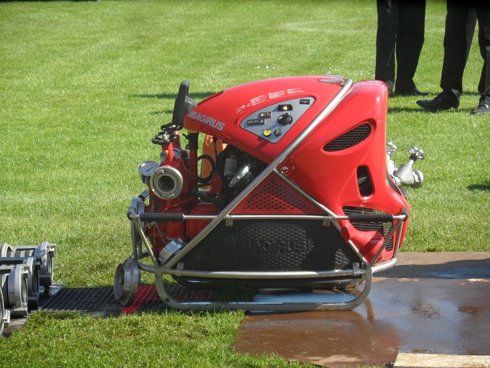 Fire, Magirus, Portable Pump
