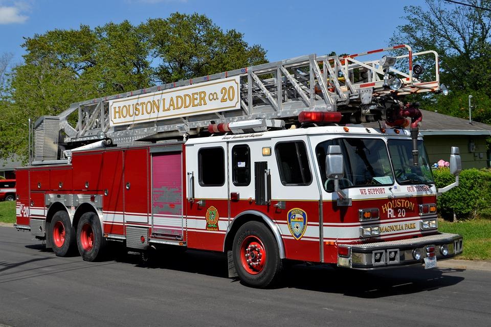 Fire In Houston, Houston Texas, Texas, Fire Rescue