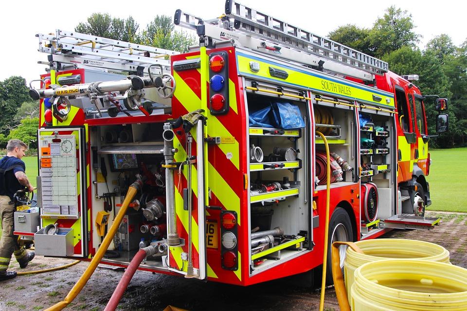 Fire Engine, Emergency, Fire, Truck, Engine, Rescue