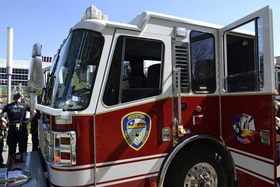 Houston Fire Department, Houston, Texas, Fire Truck