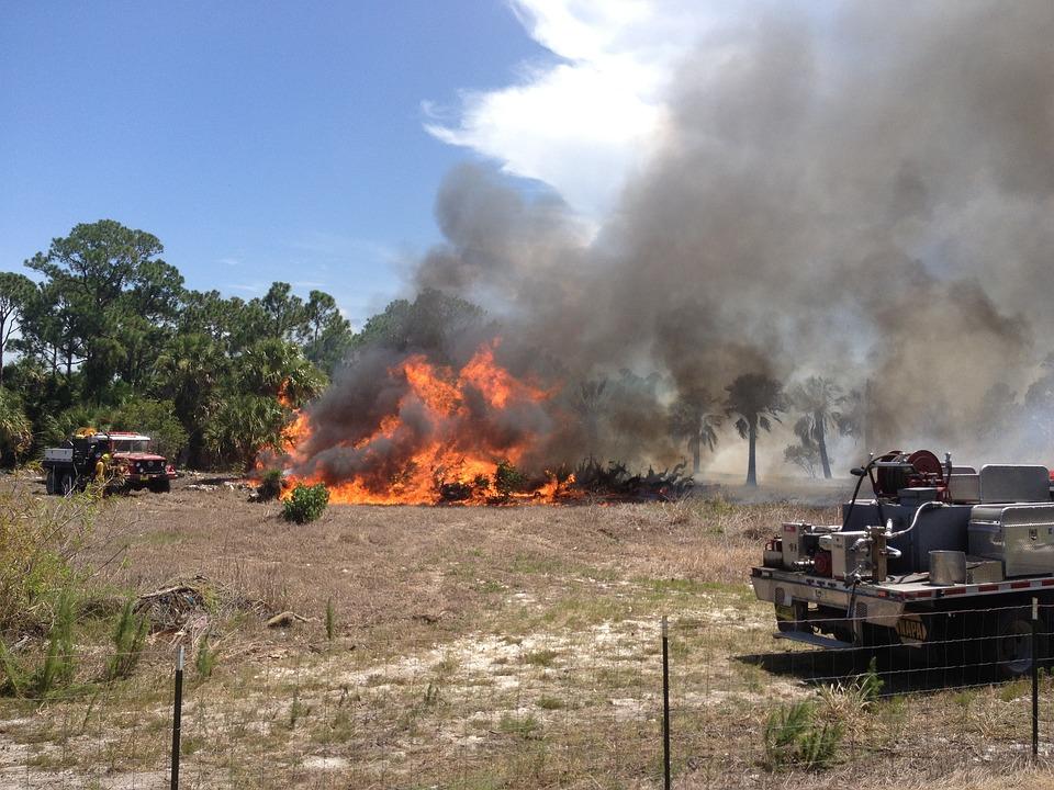 Fire, Woods, Dangerous, Equipment, Flame, Danger