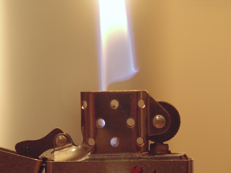 Fire, Lighter, Zippo, Flame