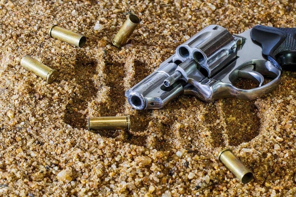 Firearm, Revolver, Bullet, Gun, Weapon, Handgun, Crime