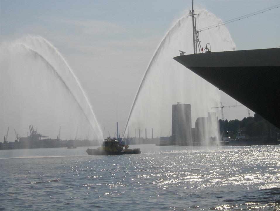 Rotterdam, Fireboat, Port