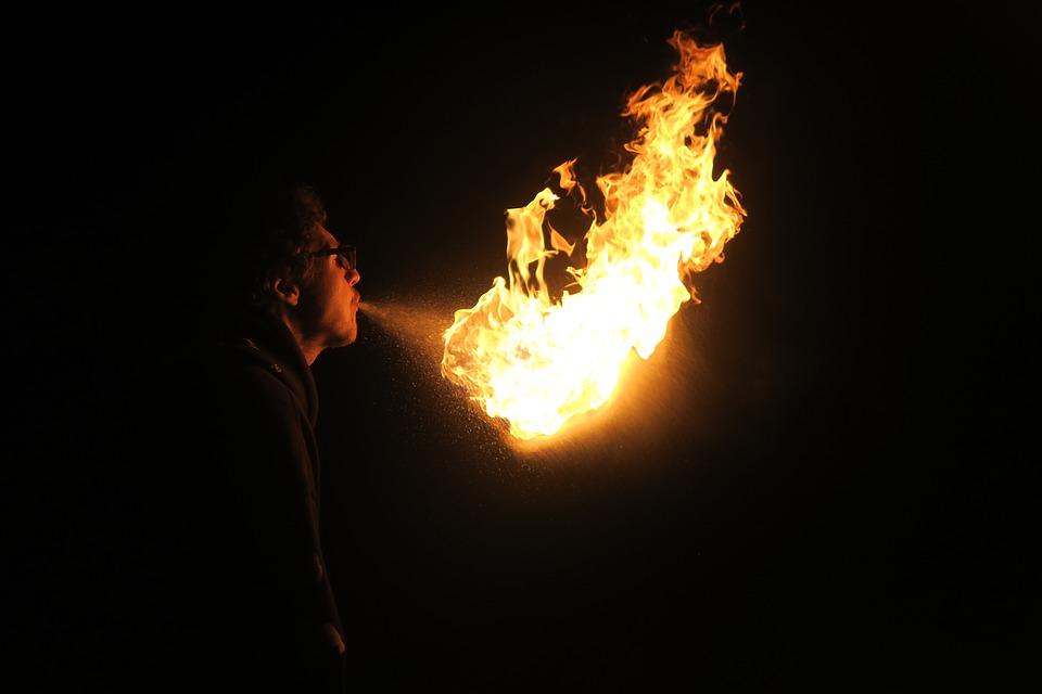 Fire, Fire Manipulation, Firebreather, Firebreathing