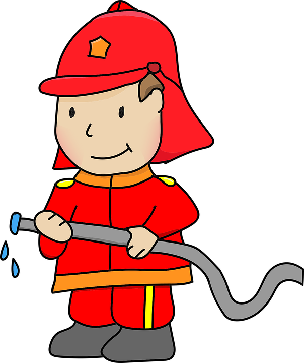 Firefighter, Fire, Extinguish, Extinction, Firefighters