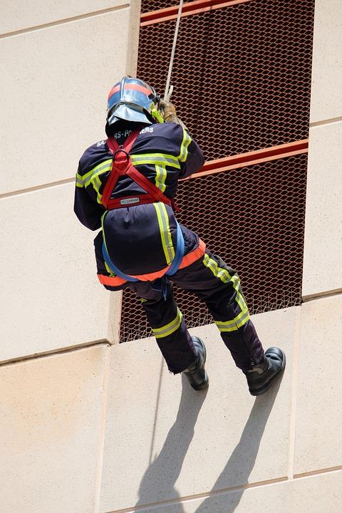 Helmet, Security, Firefighter, Intervention, Recall