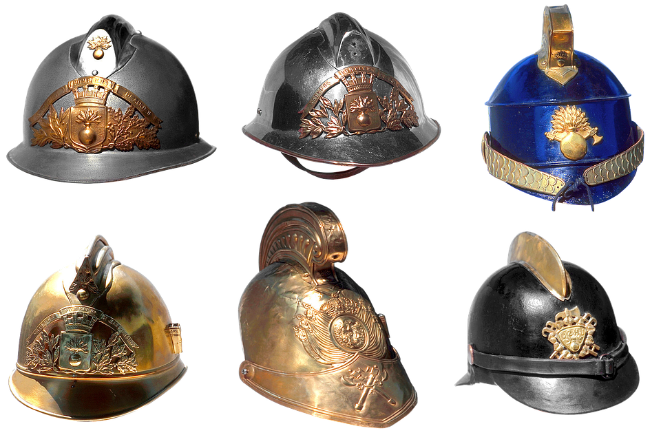 Helmet, Firefighter, Shape, Firefighter Helmet, Team
