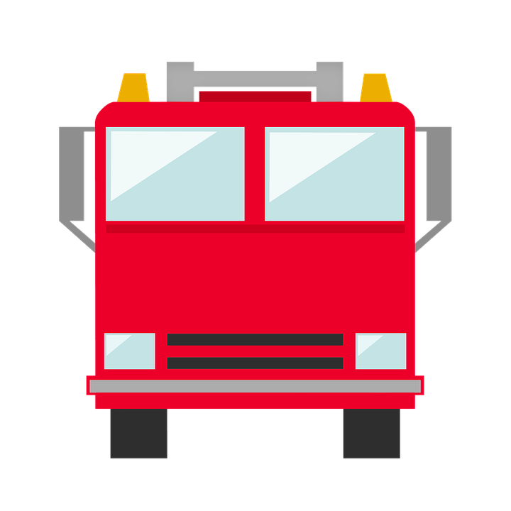 free photo firefighter truck icon fireman fire firetruck blue flower clipart picture blue flower clipart png