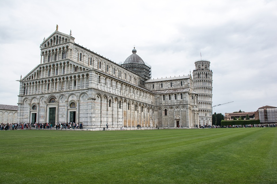 Pisa, Arhitecture, Antique, Italy, Firenze, Cathedral