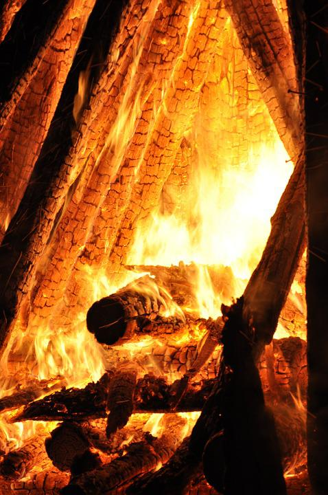 Fire, Brand, Embers, Fire Fighting, Flame, Fireplace