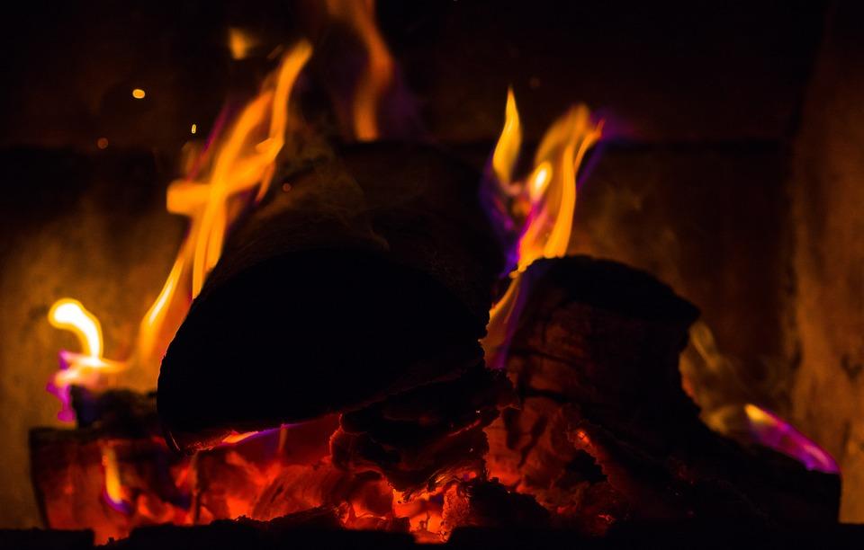 Fire, Flame, Embers, Oven, Fireplace, Burn, Heat, Glow