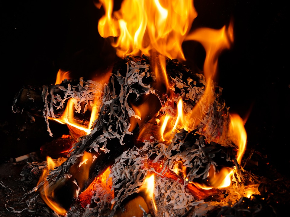 Flare-up, Heat, Joy Fire, Campfire, Fireplace, Fire