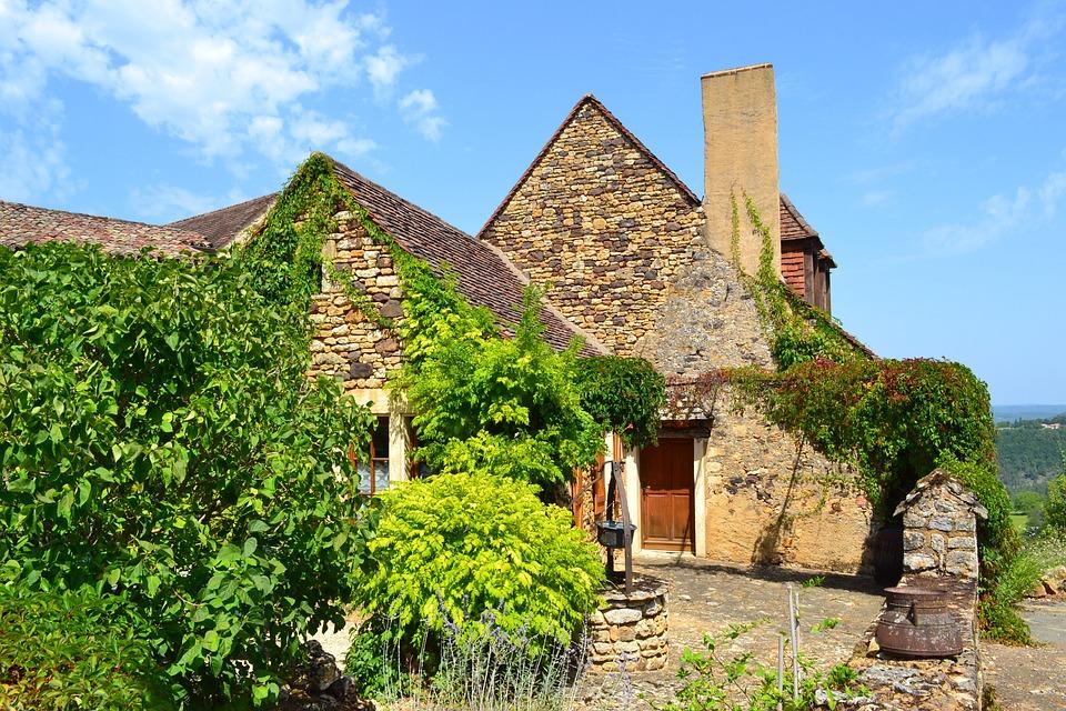 Medieval House, Wells, Fireplace, Medieval Village