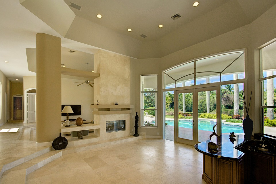 Exceptionnel Living Room, Fireplace, Private Estate, Luxury Home