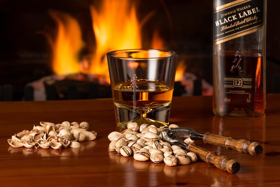 Whisky, Fireside, Alcohol, Beverage, Glass, Liquor