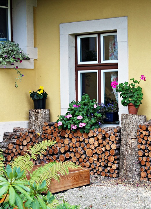 Firewood, Holzstapel, Growing Stock